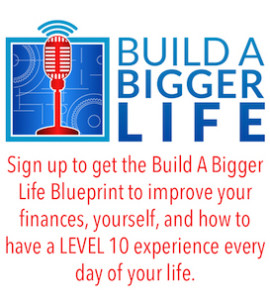 build a bigger life podcast sign up Adam Carroll