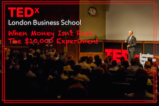 Adam Carroll TEDx London Business School When Money Isn't Real: The $10,000 Experiment